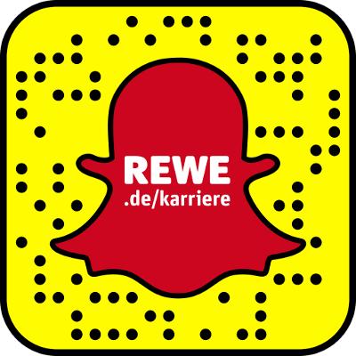 Der Snapcode von REWE karriere.