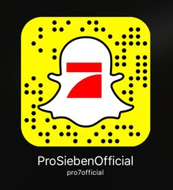 Das Snapchat-Profil von Pro7.
